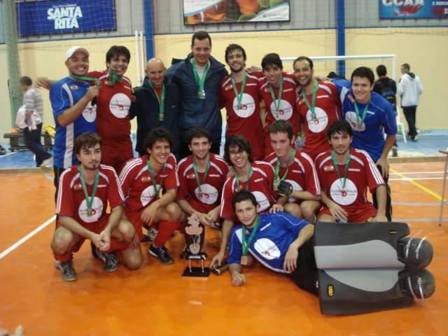 Time do Floripa campeão indoor em 2010