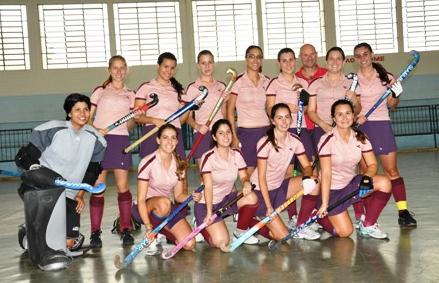 Meninas do Floripa no Brasileiro Indoor de 2011