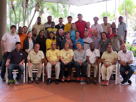 Todos os participantes do seminário da PAHF em Miami