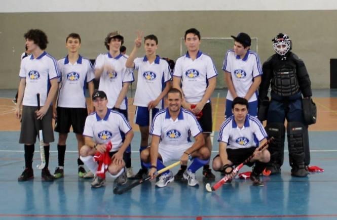O time do Vila Nova durante o Campeonato Gaúcho de 2012.