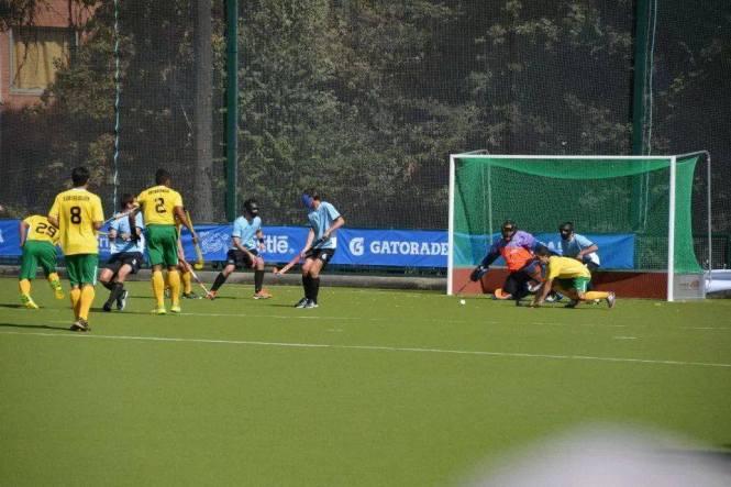Vitória sobre os uruguaios na estreia nos Jogos Sul-Americanos