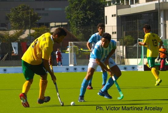 Lucas marcou o gol brasileiro contra a Argentina
