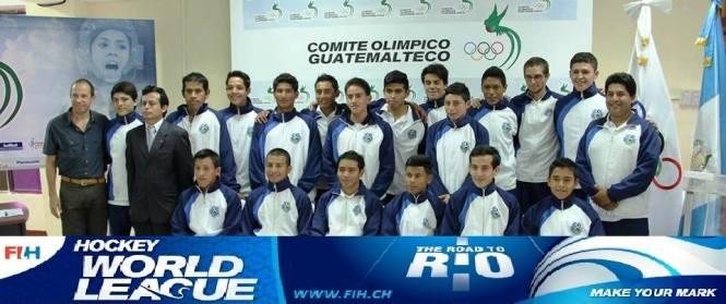 A jovem seleção da Guatemala que vai encarar o Brasil na estreia