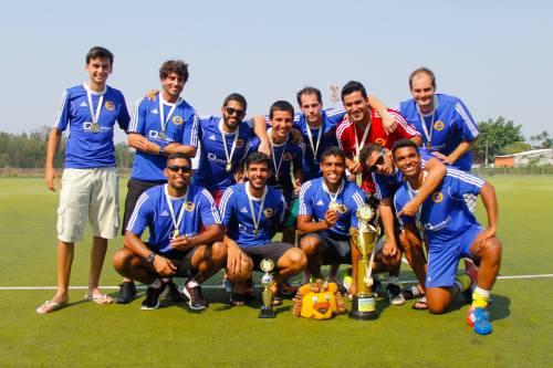 Carioca conquistou o tricampeonato no masculino