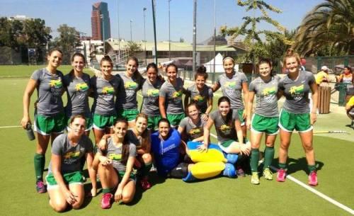 Jogos Sul-Americanos de 2014: última competição das meninas