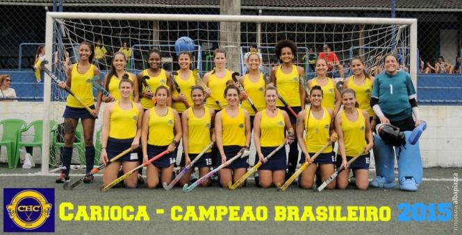 carioca  campeao fem